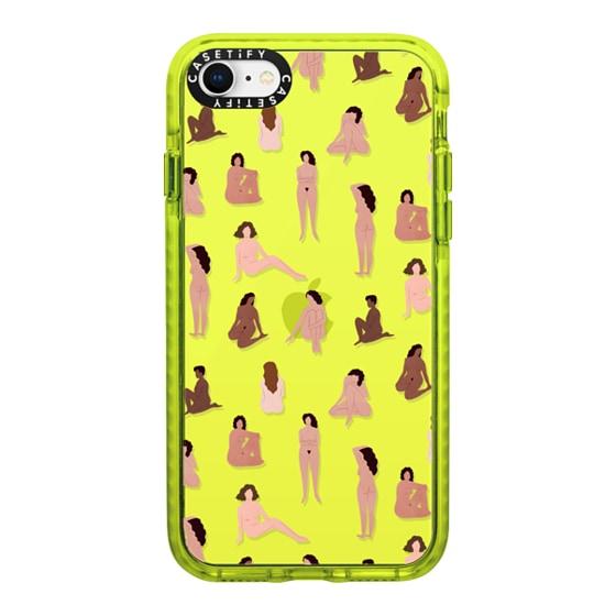 CASETiFY iPhone SE (2020) Impact Case - Naked ladies