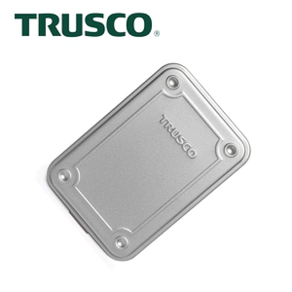 【Trusco】上掀式收納盒經典款(小)-槍銀