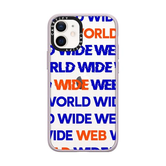 CASETiFY iPhone 12 mini Impact Case - World Wide Web 2