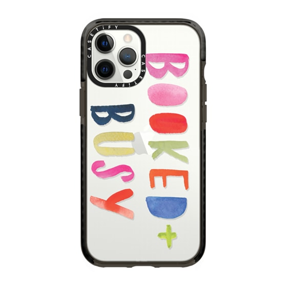 CASETiFY iPhone 12 Pro Max Impact Case - Booked + Busy