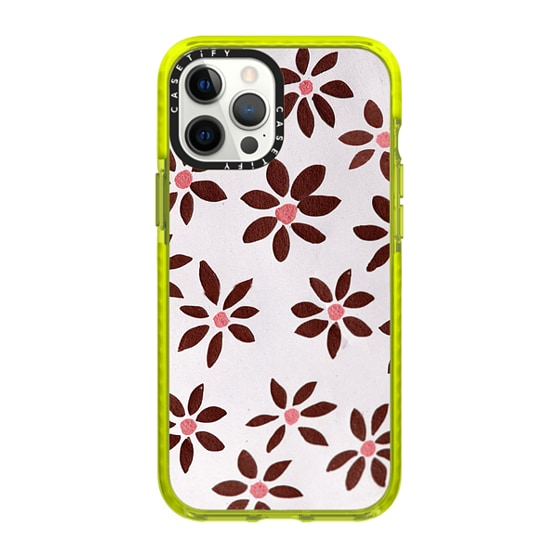 CASETiFY iPhone 12 Pro Max Impact Case - LIGHT FLOWERS by IVY WEINGLASS