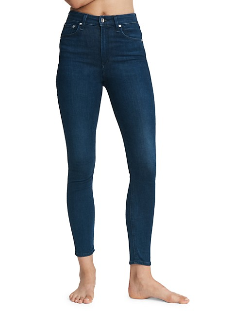 Nina High-Rise Skinny Ankle Jeans