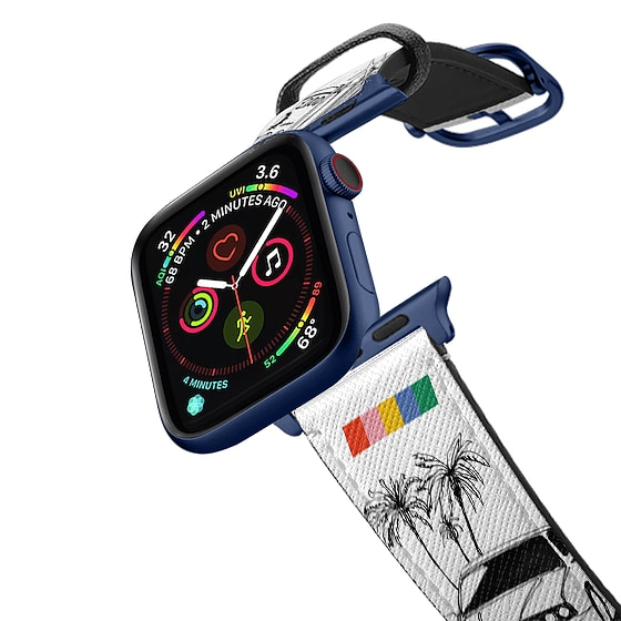 CASETiFY Apple Watch Band (38mm/40mm) Saffiano Leather Watchband V4 - LA Starter Pack Apple Watch Ba