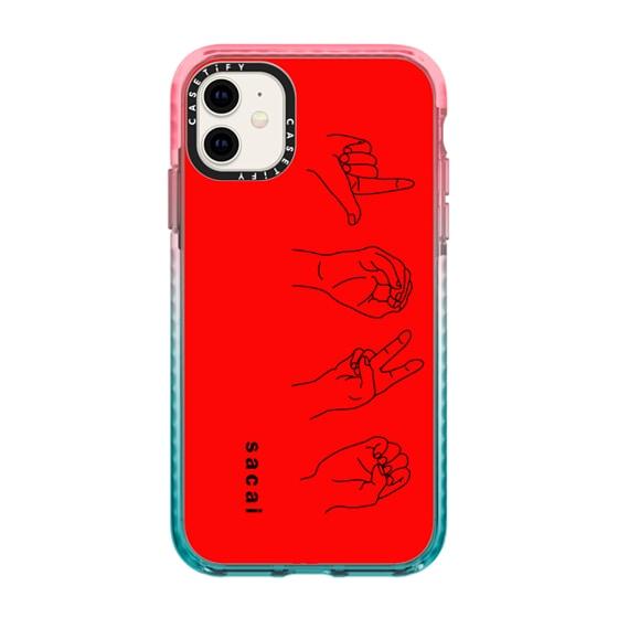 CASETiFY iPhone 11 Impact Case - Sacai - LOVE