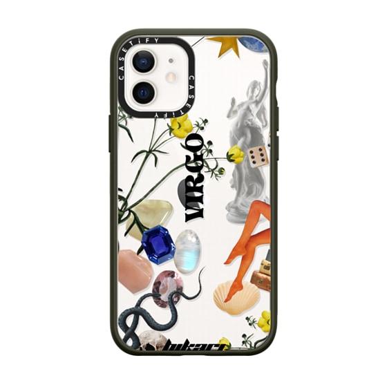 CASETiFY iPhone 12 Impact Case - HIKARI - Virgo