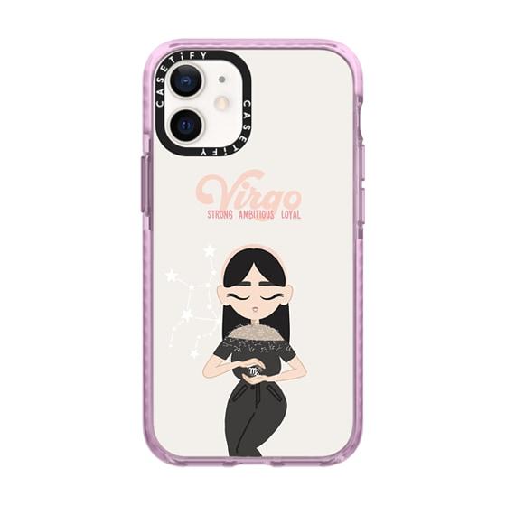 CASETiFY iPhone 12 mini Impact Case - Virgo 4 Phone Case by The Beau Studio