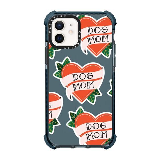 CASETiFY iPhone 12 Ultra Impact Case - Dog Mom tattoo