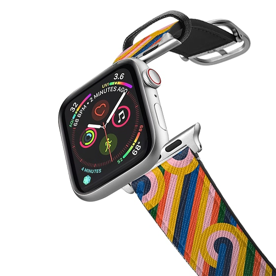 CASETiFY Apple Watch Band (38mm/40mm) Saffiano Leather Watchband V4 - Modernist Loops
