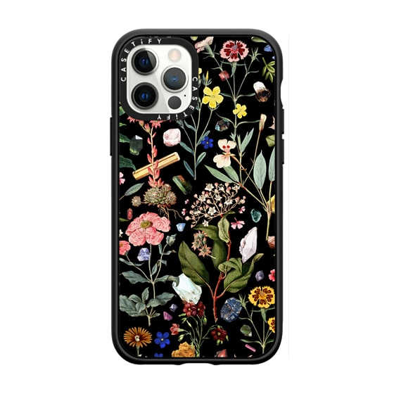 CASETiFY iPhone 12 Pro Casetify Black Impact Resistance Case - Healing black