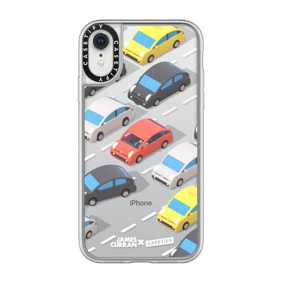 CASETiFY iPhone XR Grip Case - SlimJim Traffic