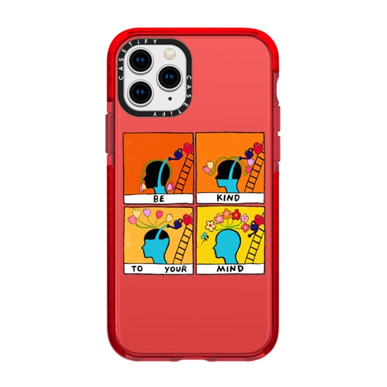 CASETiFY iPhone 11 Pro Impact Case - Be Kind To Your Mind