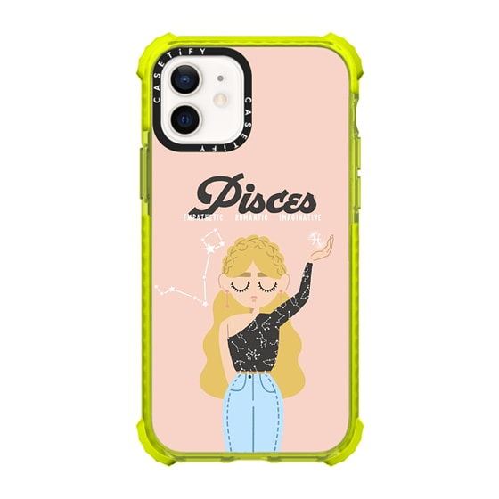 CASETiFY iPhone 12 Ultra Impact Case - Pisces 8 Phone Case by The Beau Studio