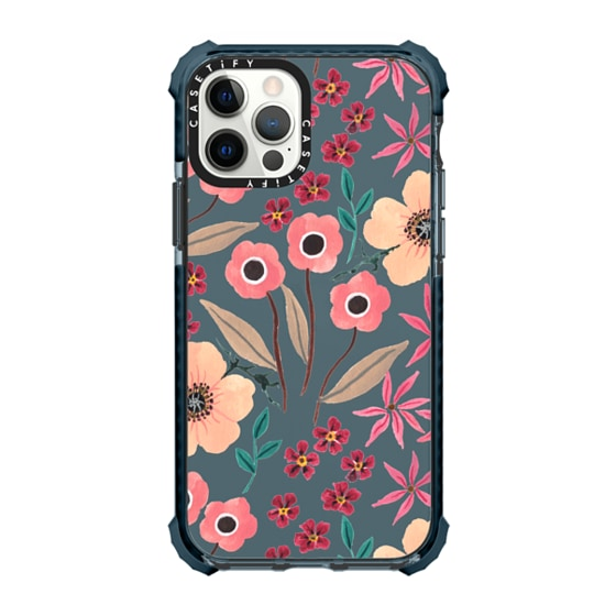 CASETiFY iPhone 12 Pro Ultra Impact Case - Pink Floral