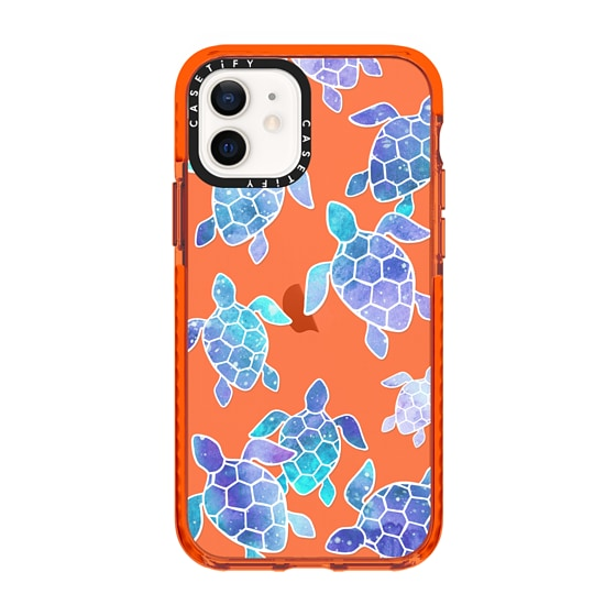 CASETiFY iPhone 12 Impact Case - Turtle Bay