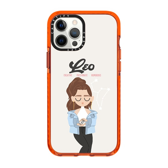 CASETiFY iPhone 12 Pro Max Impact Case - Leo 5 Phone Case by The Beau Studio