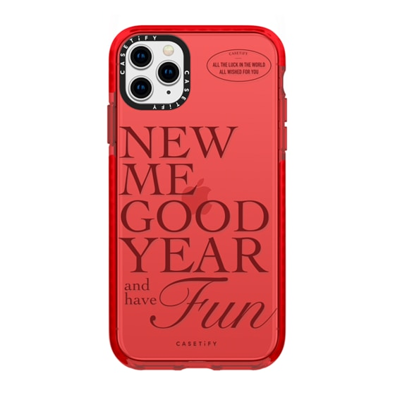CASETiFY iPhone 11 Pro Max Impact Case - New ME Good Year & have Fun
