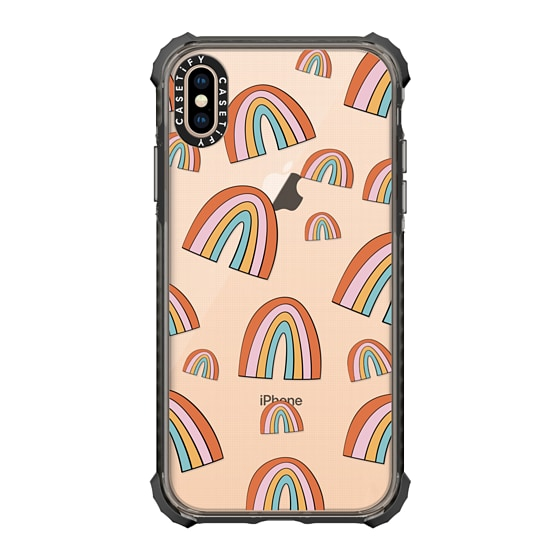 CASETiFY iPhone Xs Max Ultra Impact Case - Rainbows by Oh So Graceful