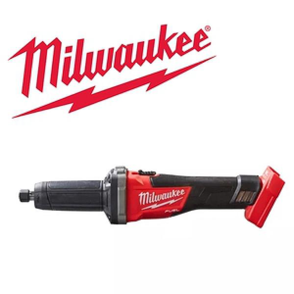 Milwaukee 18V鋰電無碳刷直柄刻磨機M18FDG-0(空機)