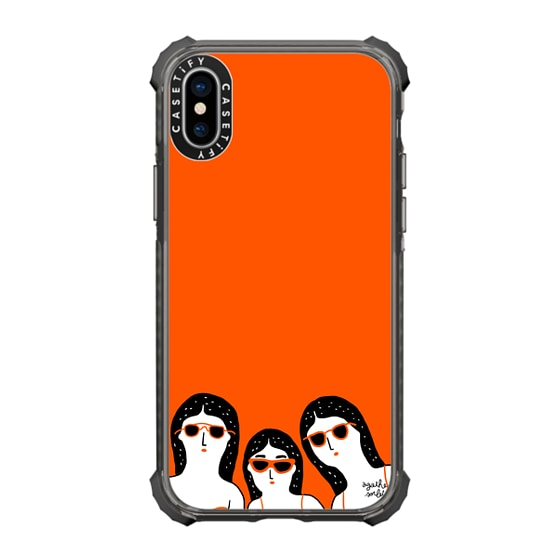 CASETiFY iPhone X Ultra Impact Case - Team Glasses