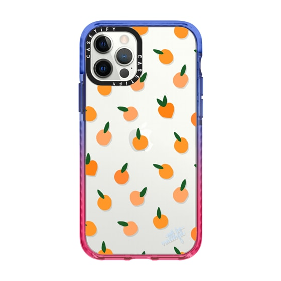 CASETiFY iPhone 12 Pro Impact Case - ORANGE YOU CUTE PHONE CASE - Nattbfit x CASETiFY