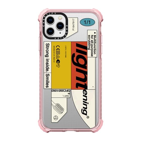 CASETiFY iPhone 11 Pro Max Ultra Impact Case - Bleak Lightening