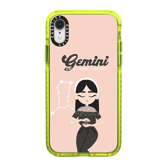 CASETiFY iPhone XR Impact Case - Gemini 4 Phone Case by The Beau Studio