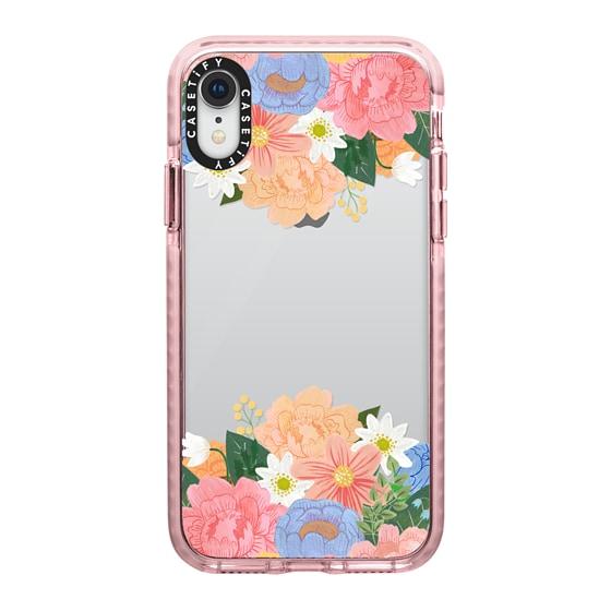 CASETiFY iPhone XR Impact Case - Flower Bouquet