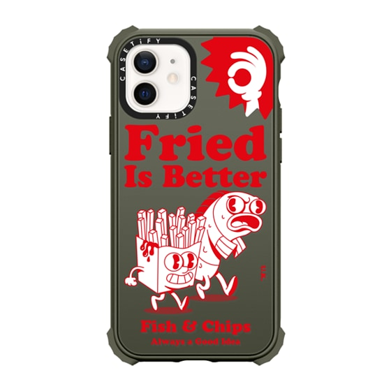 CASETiFY iPhone 12 Ultra Impact Case - Fried is Better