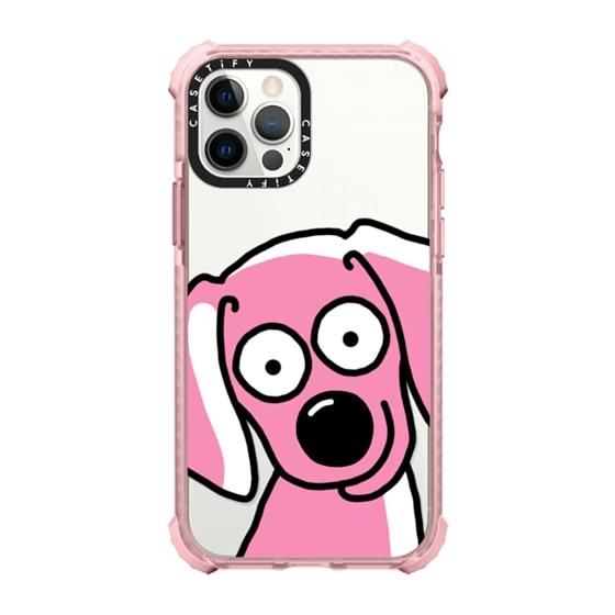 CASETiFY iPhone 12 Pro Ultra Impact Case - Dog Selfie