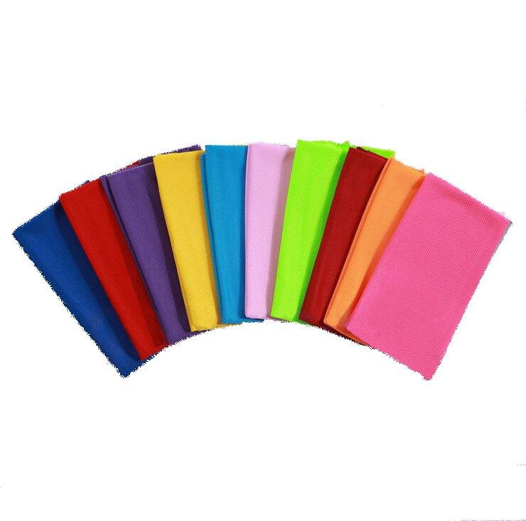 涼感毛巾 降溫快速 魔術冰涼巾 運動毛巾 涼涼巾 8色可選 運動必備 方便好用