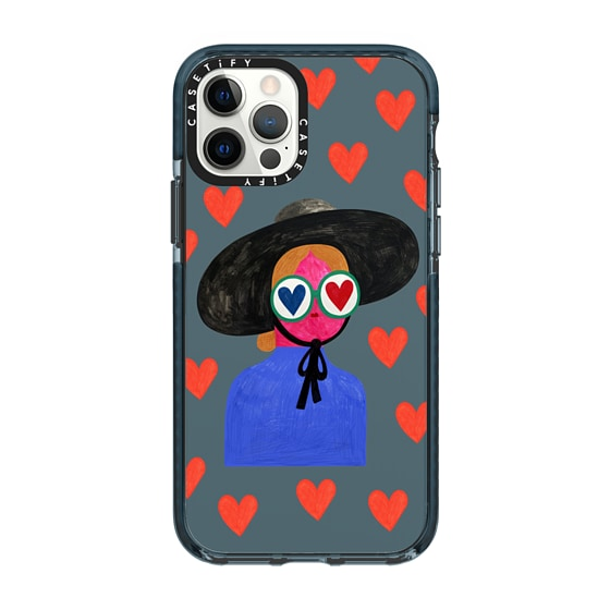 CASETiFY iPhone 12 Pro Impact Case - IN LOVE by Daria Solak Illustrations