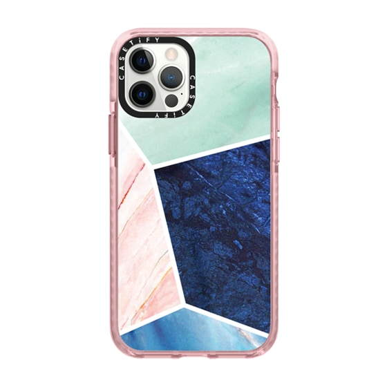CASETiFY iPhone 12 Pro Impact Case - marble 063