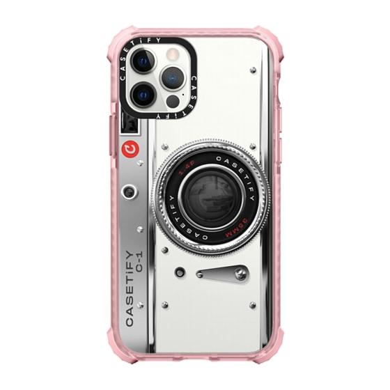 CASETiFY iPhone 12 Pro Ultra Impact Case - Camera Case - Classic