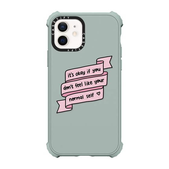 CASETiFY iPhone 12 Ultra Impact Case - Normal Self Phone Case by GMF Designs