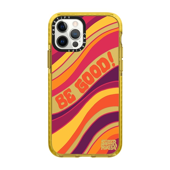 CASETiFY iPhone 12 Pro Impact Case - Be Good - SUMMER MCKEEN X CASETiFY