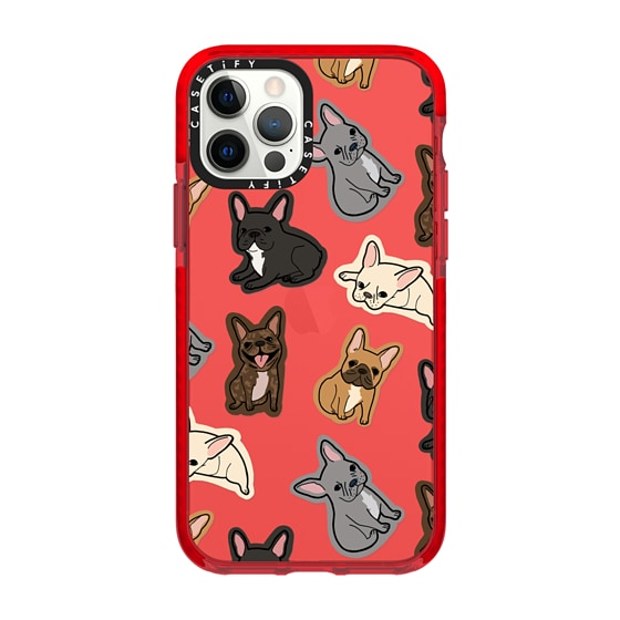 CASETiFY iPhone 12 Pro Impact Case - EXCUSE MY FRENCHIE