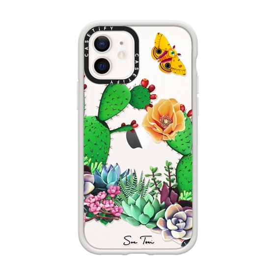 CASETiFY iPhone 12 Impact Case - BLOOMED IPHONE CASE BY SUE TSAI
