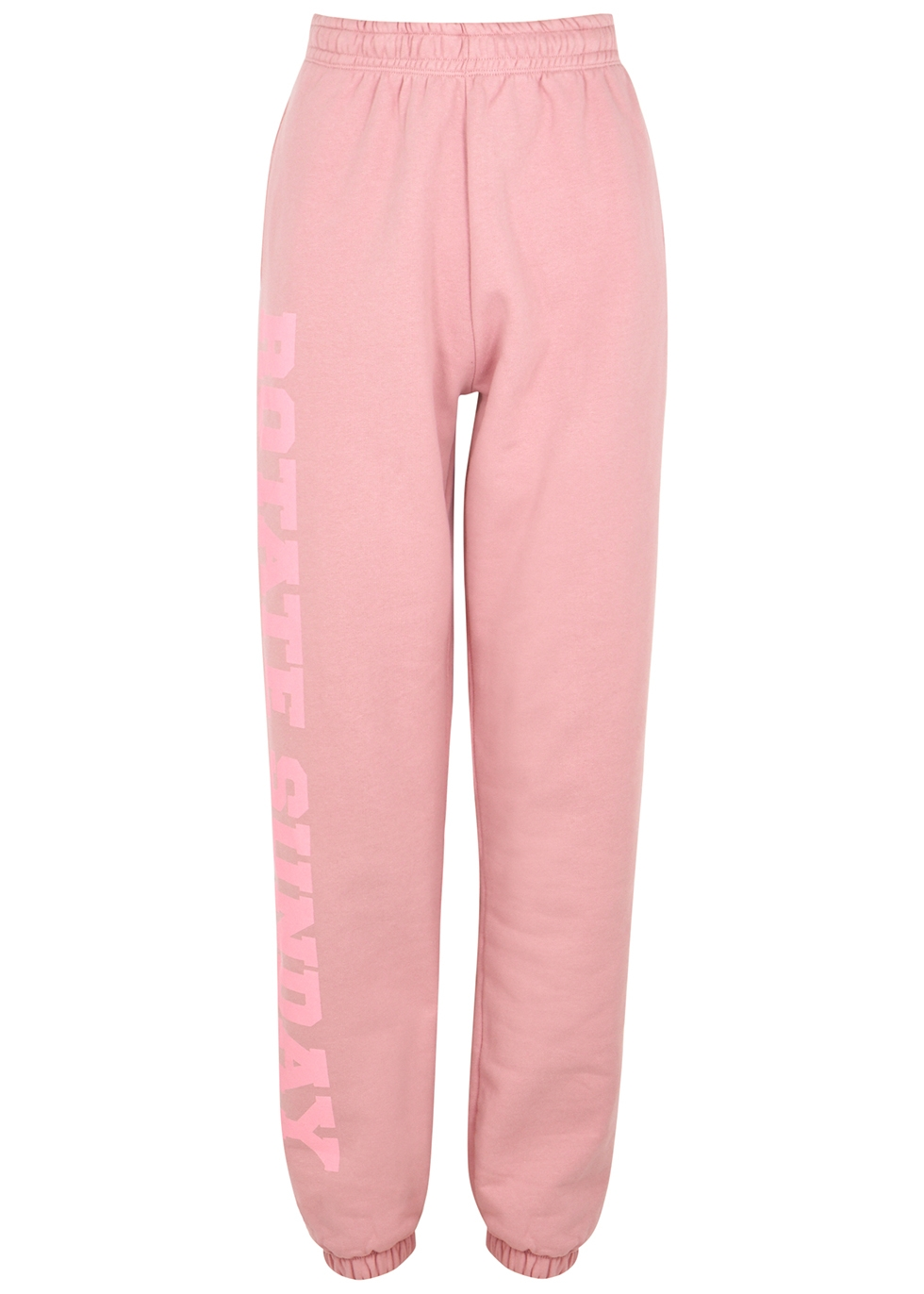 Mimi pink cotton sweatpants