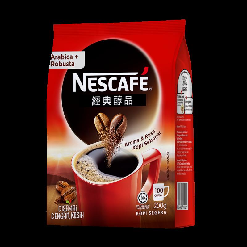 雀巢咖啡醇品經典風味補充包