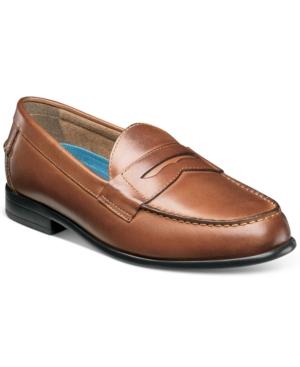 Nunn Bush Men's Drexel Penny Loafers with Kore Comfort Technology Men's Shoes