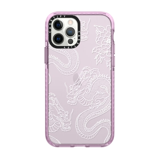 CASETiFY iPhone 12 Pro Impact Case - DRAGONS