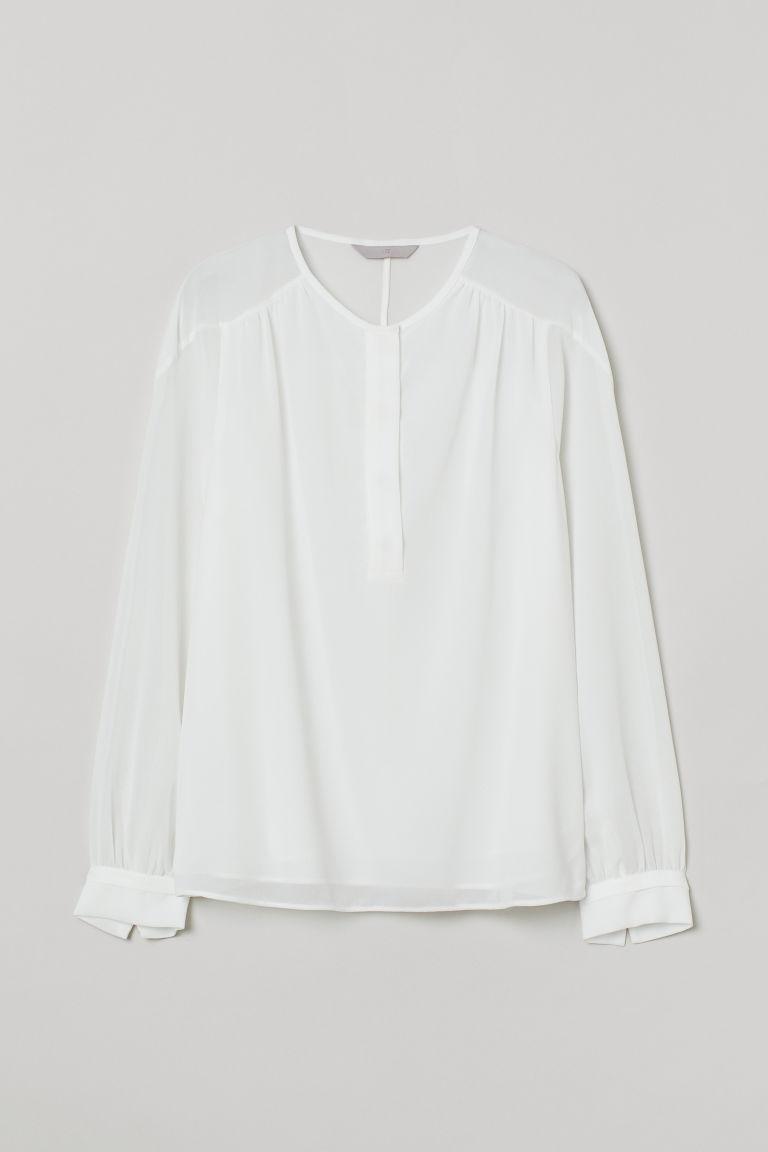 H & M - 女衫 - 白色