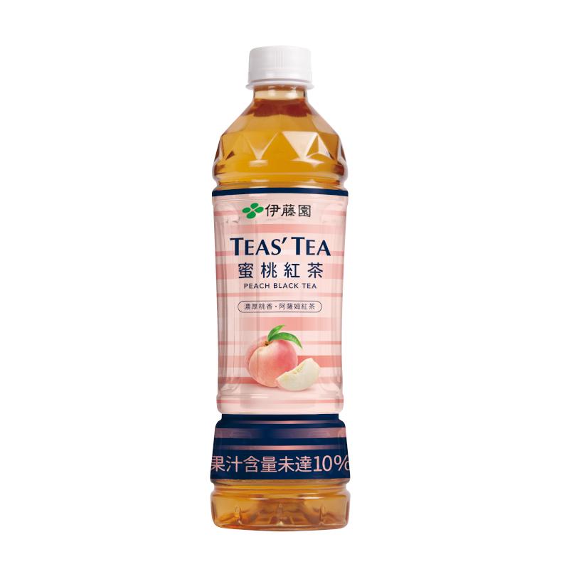 伊藤園 Tea's Tea 蜜桃紅茶535mlx24