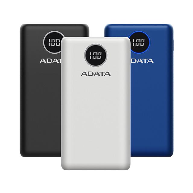 免運 威剛ADATA PD/QC快充行動電源20000mAh P20000QCD(BSMI認證) 【2入】