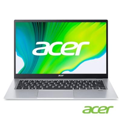 Acer SF114-34-C9V9 14吋輕薄筆電(N5100/4G/256G SSD/Swift 1/彩虹銀)