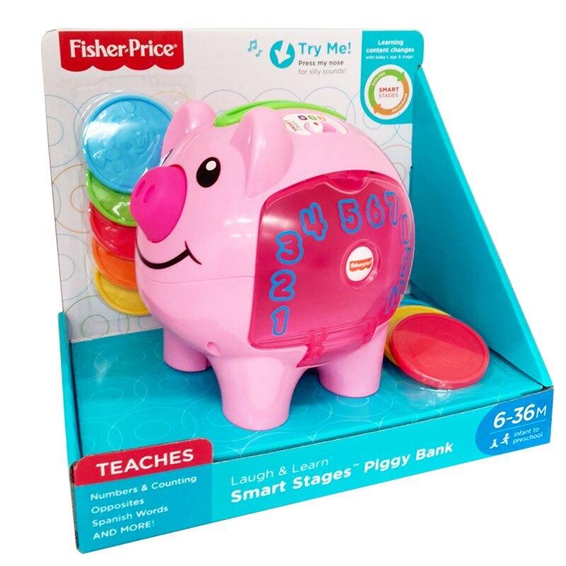 Fisher-Price 費雪-智慧學習小豬撲滿 618購物節