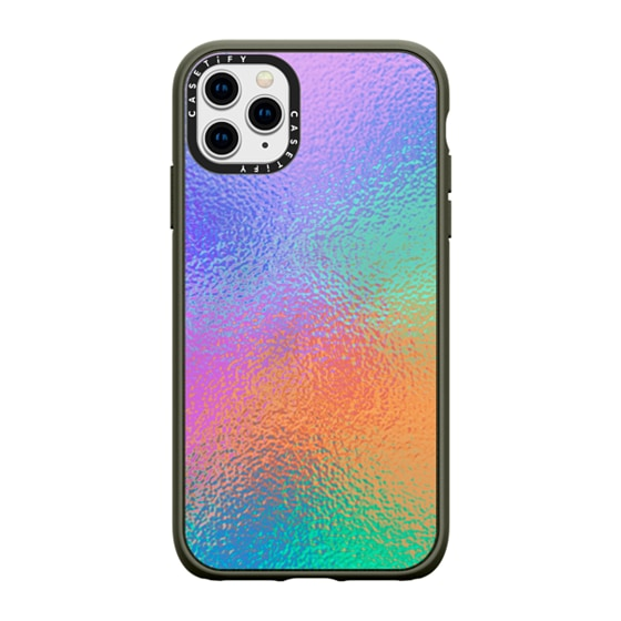 CASETiFY iPhone 11 Pro Max Casetify Black Impact Resistance Case - Glass