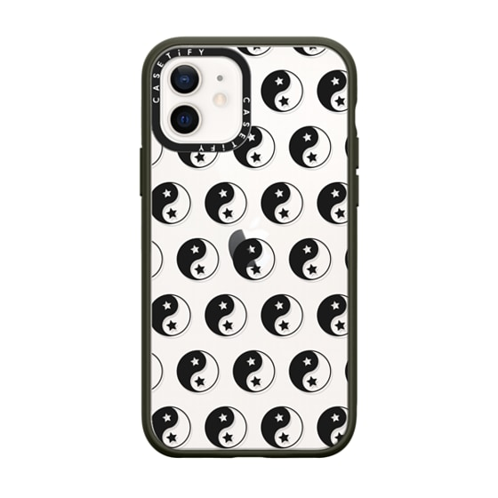CASETiFY iPhone 12 Impact Case - Yin Yang iPhone Case by Quotes by Christie