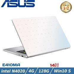ASUS華碩E410MA-0331WN4020 夢幻白(14吋/Celeron N4020/4G/128G/Win10 S/HD)
