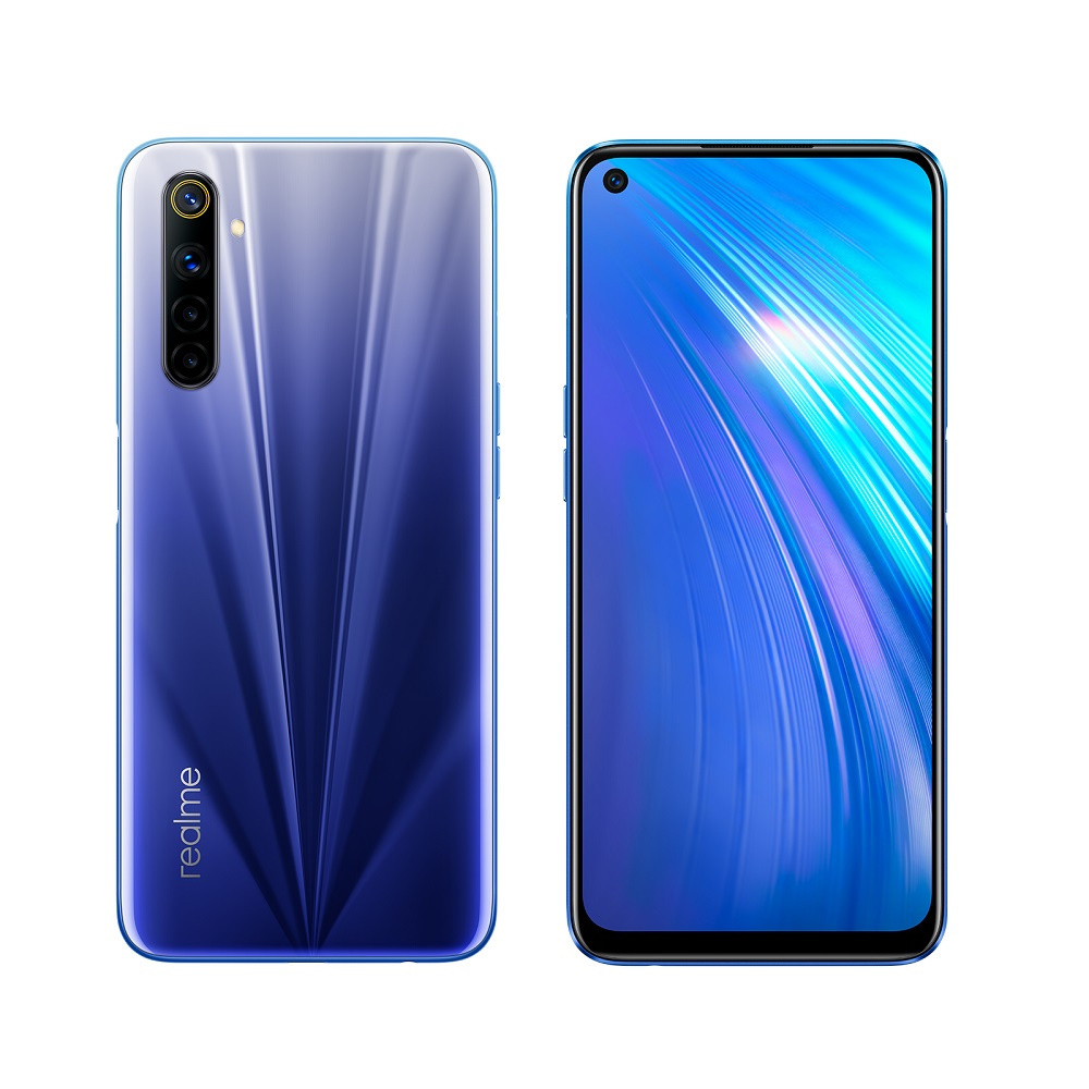 realme 6 8G/128G 6.5吋智慧手機_彗星藍
